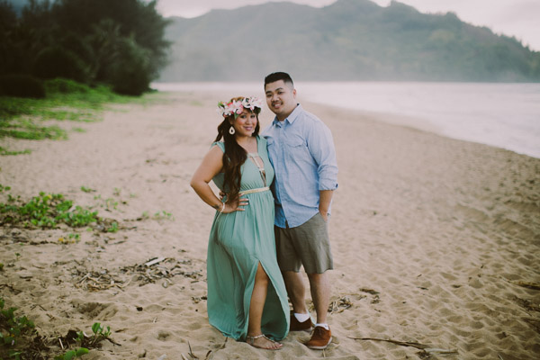 Hanalei Bay Engagement-1