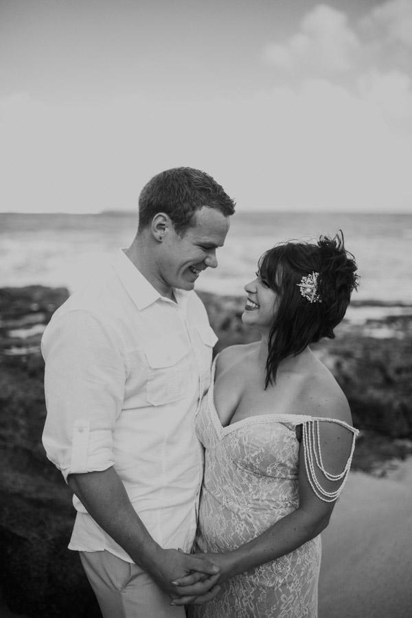 Kauai Beach wedding- Molaa'a Bay-18