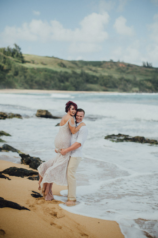 Kauai Beach wedding- Molaa'a Bay-25
