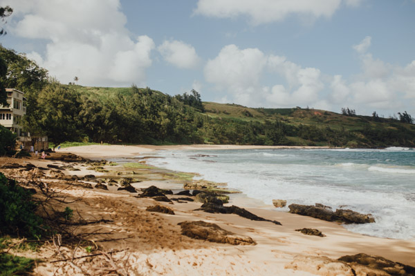 Kauai Beach wedding- Molaa'a Bay-31