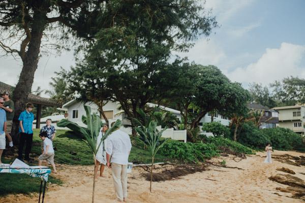 Kauai Beach wedding- Molaa'a Bay-32