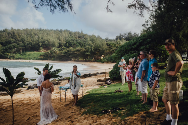 Kauai Beach wedding- Molaa'a Bay-37