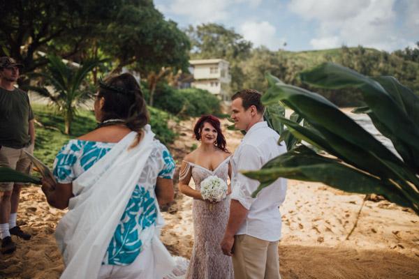Kauai Beach wedding- Molaa'a Bay-38