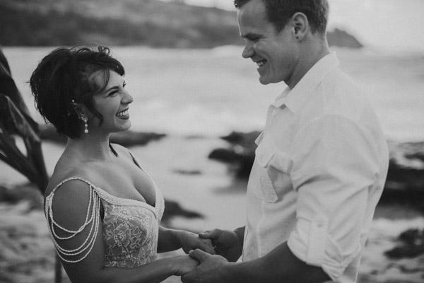 Kauai Beach wedding- Molaa'a Bay-43