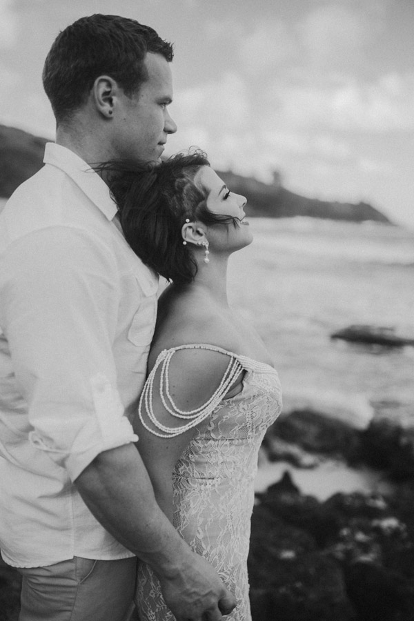 Kauai Beach wedding- Molaa'a Bay-47