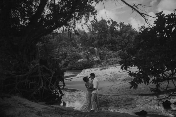 Kauai Beach wedding- Molaa'a Bay-54