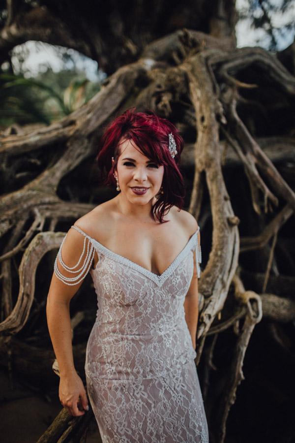 Kauai Beach wedding- Molaa'a Bay-56