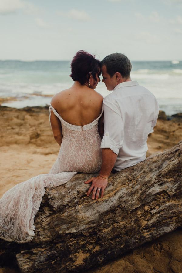 Kauai Beach wedding- Molaa'a Bay-60