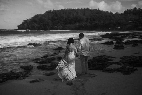 Kauai Beach wedding- Molaa'a Bay-61