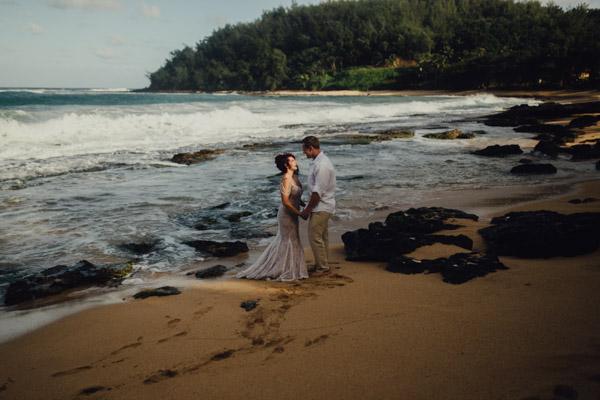 Kauai Beach wedding- Molaa'a Bay-62