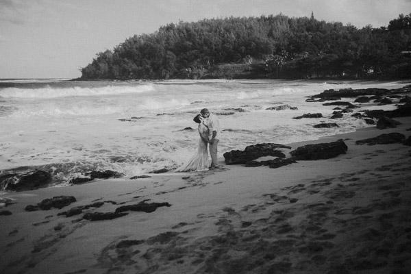 Kauai Beach wedding- Molaa'a Bay-63